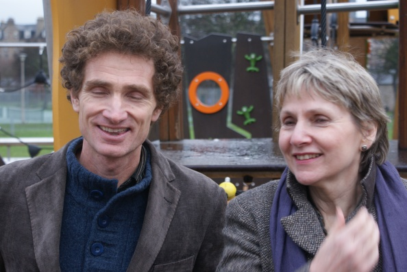 Dr. Neil Thin and Carol Craig, our first radical thinkers
