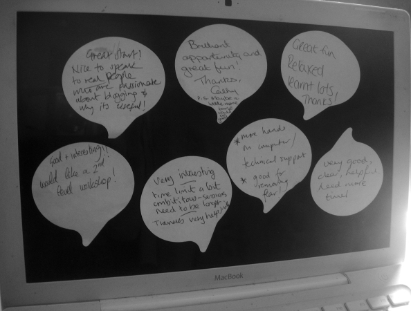 Feedback from participants in the first NENgage session